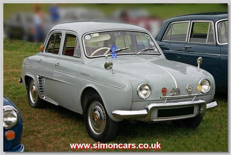 1958 renault dauphine simon cars renault dauphine