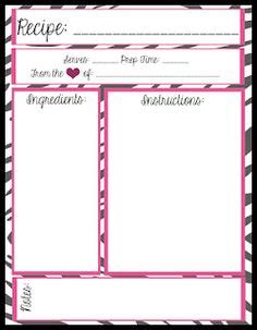 blank recipe cards michaels blank recipe templates on pinterest recipe cards recipe