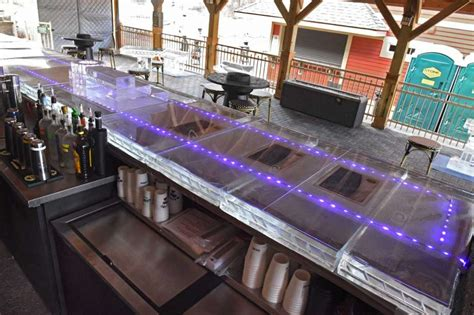 ice bar top ice bar top 28 images glass countertop for bar and