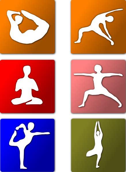 yoga positions clip art  clkercom vector clip art