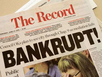 Bankruptcy Search California Bankrupt California Cities Slash Services To Fund Six Figure Pensions Rt