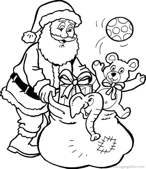 free santa claus coloring pages christmas coloring pictures santa coloring point