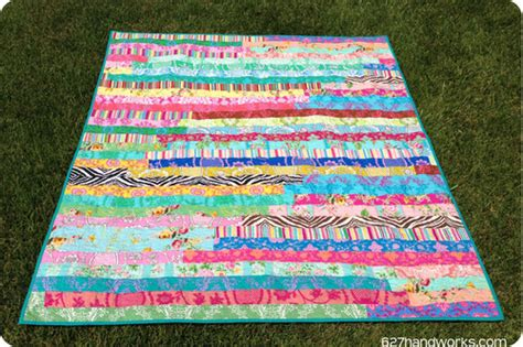 How Big Is A Jelly Roll Race Quilt by 45 Free Jelly Roll Quilt Patterns New Jelly Roll Quilts