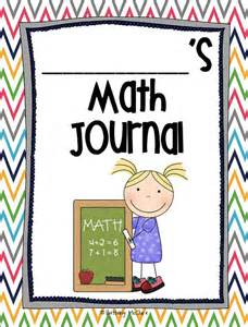 math journal template common math journal for grade number of the day