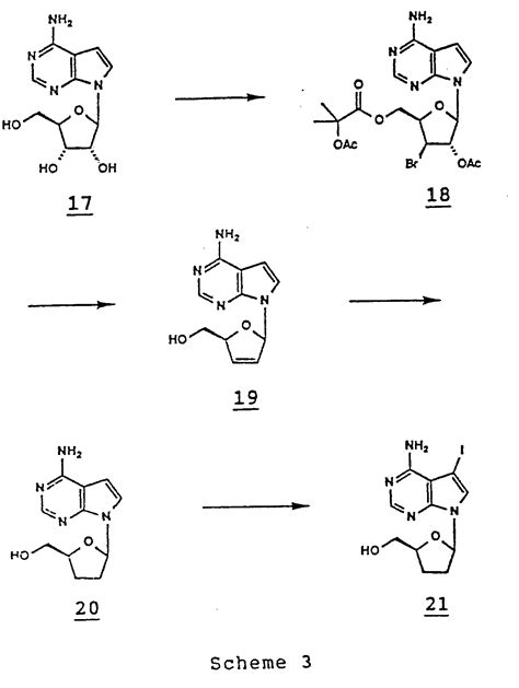 j carbohydrates nucleosides nucleotides patente ep0251786a2 alkynylamino nucleotides