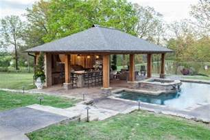 home with pool rustic mississippi pool house landscaping network