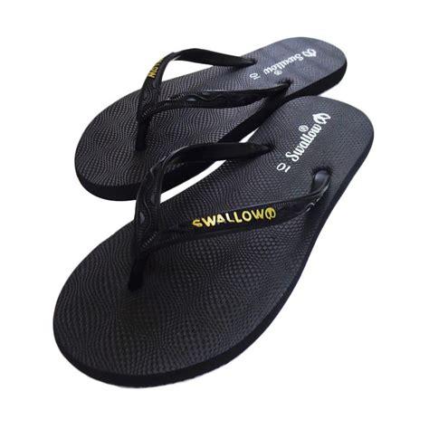 Toko Leony Sandal Jepit Swalow jual gerinda black sandal jepit