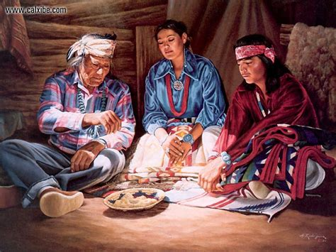 Drawing & Painting: Native American Navajo Wedding, picture nr. 10648