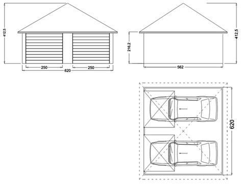 largeur porte de garage pour 2 voitures dimension garage voiture dimension standard d un