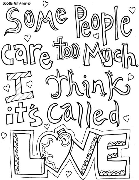 doodle alley quotes doodle alley quotes coloring pages coloring pages ideas