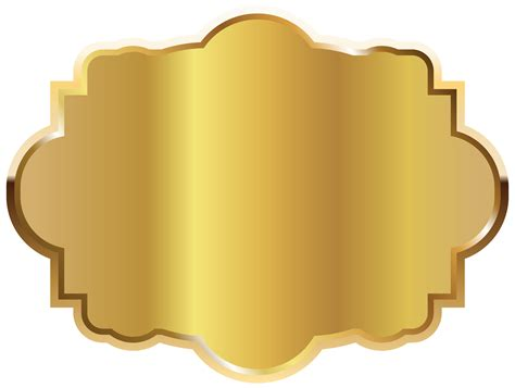 gold label template clipart picture gallery yopriceville