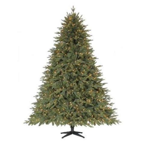 home accents holiday 75 frasier fir home accents 7 5 ft monterey fir set artificial tree with 800 clear