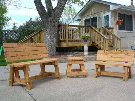 Outdoor Furniture Handmade - using your creativity for handmade wood furniture