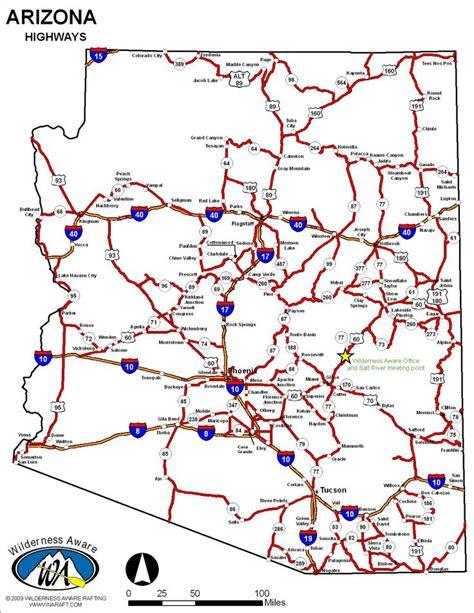 arizona highway conditions map 26 best maps images on arizona florida