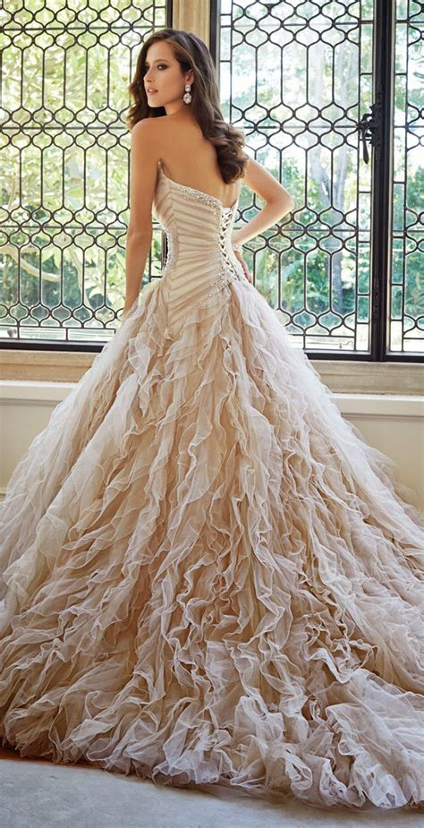 wedding dress layout sophia tolli fall 2014 bridal collection belle the magazine