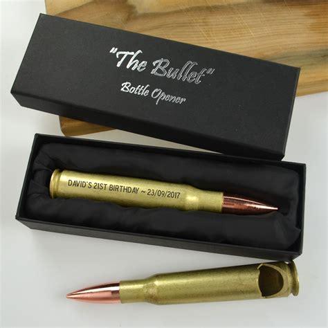 bullet gifts birthday engraved bullet bottle opener 18th birthday gift