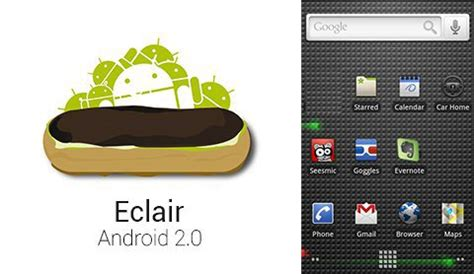 android eclair android version history every os from cupcake to lollipop