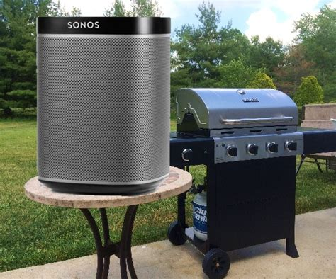 backyard speakers what options are there for playing sonos on outdoor