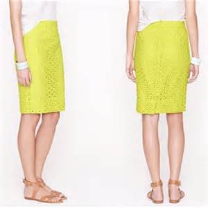 neon green pencil skirt dress ala