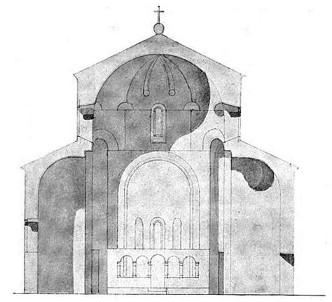 church section file a cross section plan of ateni sioni church georgia