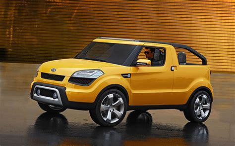 kia soul truck kia soul ster awarded 2009 concept truck of the year