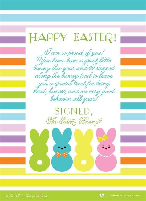 easter bunny letter template letter to the easter bunny template choice image template