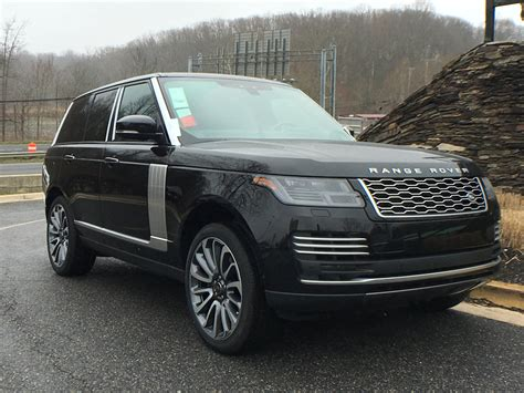 land rover suv 2018 new 2018 land rover range rover v8 supercharged