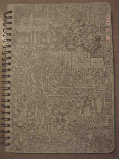 doodle fan club fanfiction net images doodle in notebook hd wallpaper and