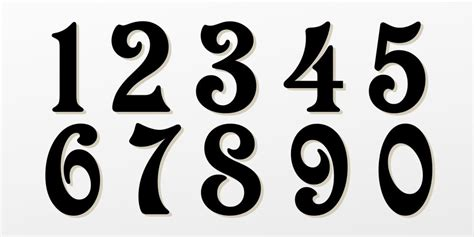 printable font numbers big fancy numbers font pictures to pin on pinterest