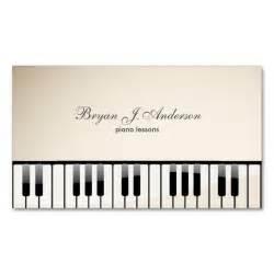 piano business cards piano business card business cards