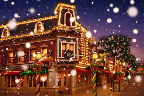 christmas at hong kong disneyland photo report