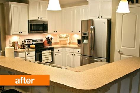 kitchen cabinet makeover kit before after transforming a dark kitchen with a diy