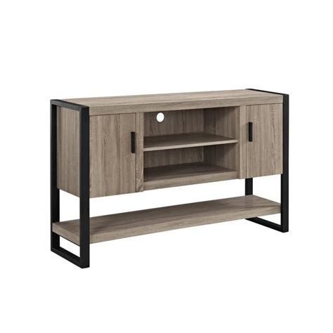 Tv Sofa Table by 60 Quot Tv Console Table And Buffet In Driftwood W60ubctag