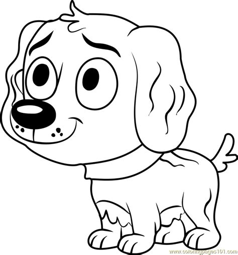 coloring pages pound puppies pound puppies vanilli coloring page free pound puppies