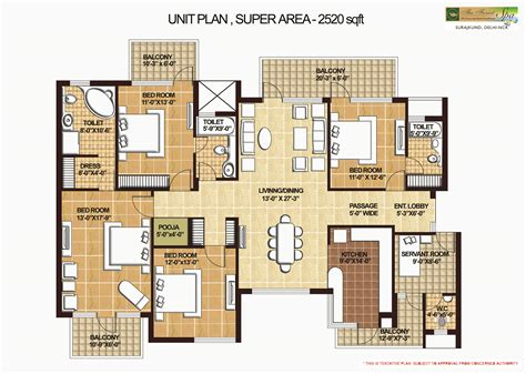 spa floor plans apartment in omaxe forest spa prithvi estates