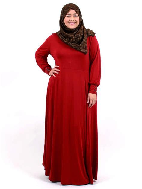 Baju Muslim Ukuran Besar Contoh Model Busana Muslim Khusus Wanita Gemuk 2016