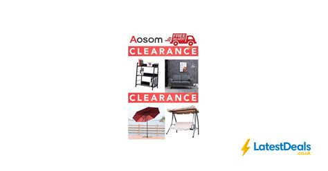 special offer aosom clearance sale home garden