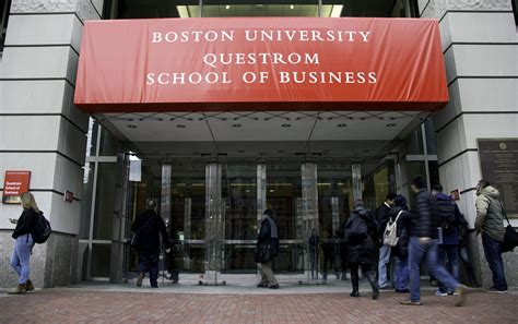 Bu Mba Application by School Of Management Renamed Questrom School Of Business