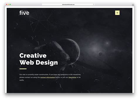 creative construction and design 20 best coming soon html5 website templates 2017 colorlib
