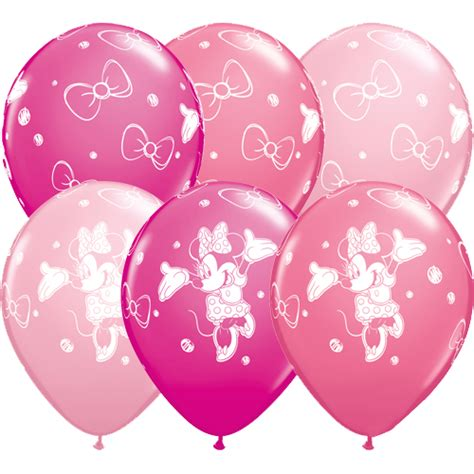 11 quot minnie mouse latex balloons x 25