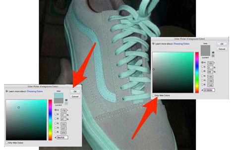 teal color shoes shoes that look both pink and white or teal and gray are
