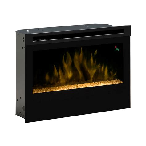 dimplex 25 in contemporary electric fireplace insert df2524g