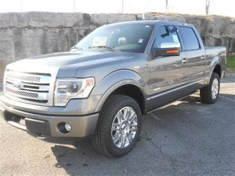 2013 ford f 150 supercrew 4x4 platinum ecoboost sterling