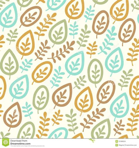 leaf pattern design vector leaf pattern stock vector image of fashion blue fabric