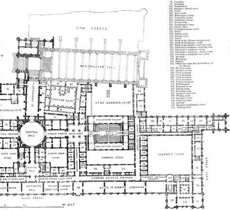 house of commons floor plan 1843
