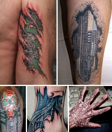 robot tattoo designs robot tattoos awesome works of mechanical urbanist
