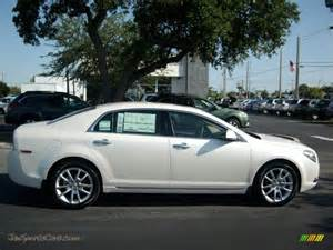 2011 chevrolet malibu ltz in white tricoat photo