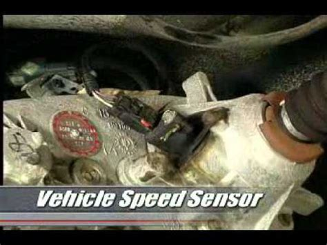 vehicle speed sensor youtube