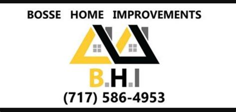 bosse home improvements roofing 421 beck mill rd