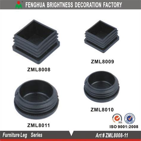 Square Plastic Feet For Outdoor Furniture; Bed/sofa/table